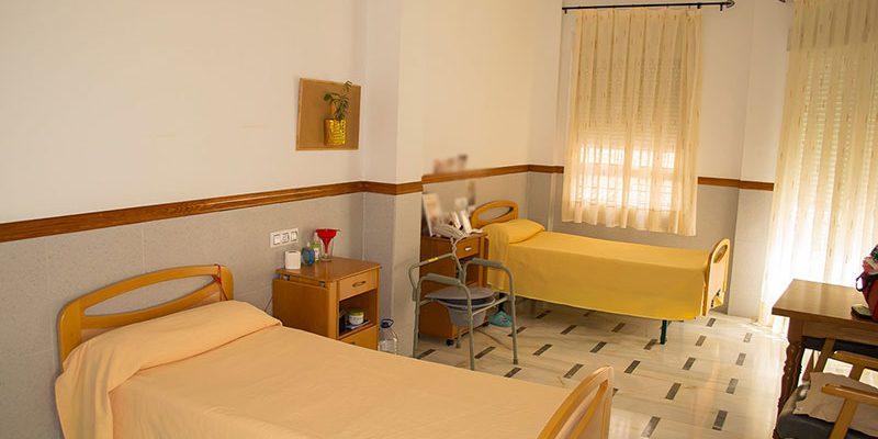Habitación doble en Residencia El Salvador