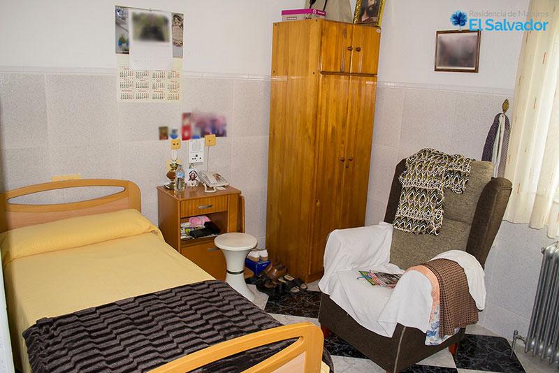 Habitación individual en Residencia El Salvador
