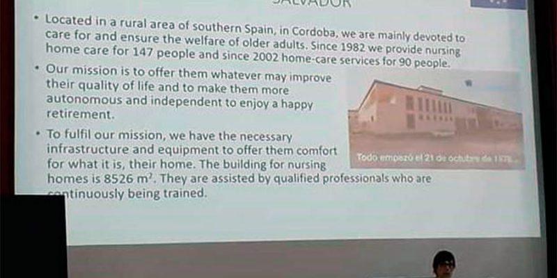 La Residencia de Mayores El Salvador forma parte de SHAPES, proyecto europeo para el apoyo a la independencia y mejora de la calidad de vida de las personas mayores